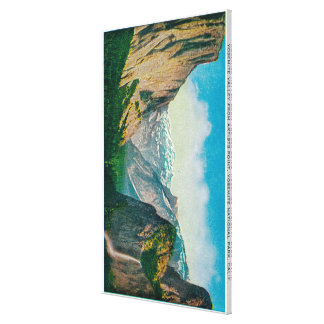 Yosemite Valley from Artist s Point Stretched Canvas Print