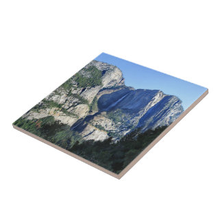 Yosemite Valley from Four Mile Trail - Yosemite Ceramic Tile