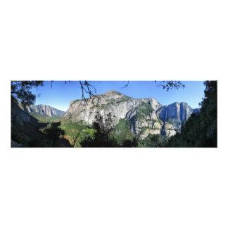 Yosemite Valley from Four Mile Trail - Yosemite Photo Print