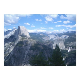 Yosemite Valley from Glacier Point 13 Cm X 18 Cm Invitation Card