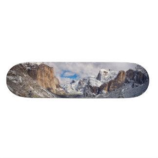 Yosemite Valley in Snow Skateboard Decks