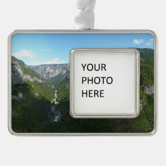 Yosemite Valley in Yosemite National Park Silver Plated Framed Ornament