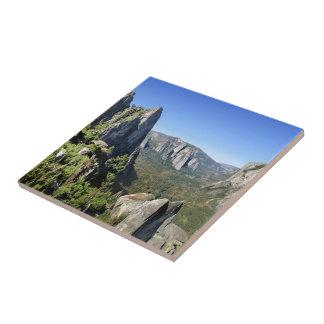 Yosemite Valley Panorama 2 - Yosemite Ceramic Tile