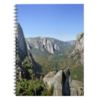 Yosemite Valley Panorama 2 - Yosemite Notebook