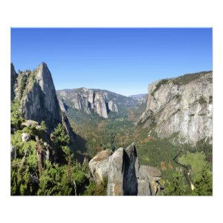 Yosemite Valley Panorama 2 - Yosemite Photo Print