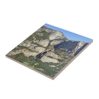 Yosemite Valley Panorama 3 - Yosemite Ceramic Tile
