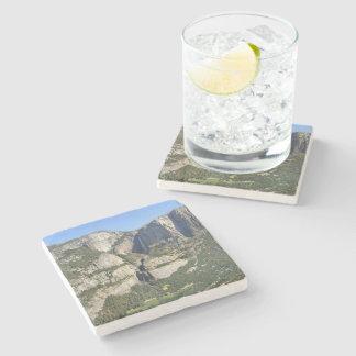 Yosemite Valley Panorama 3 - Yosemite Stone Beverage Coaster