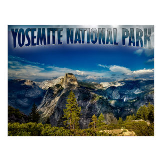Yosemite Valley Yosemite National Park Postcard