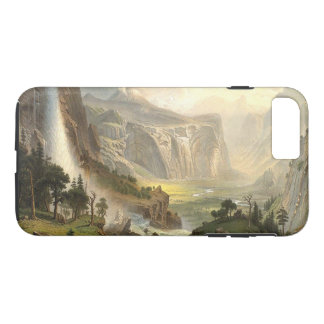 Yosemite Waterfall Trees Wilderness iPhone  Case