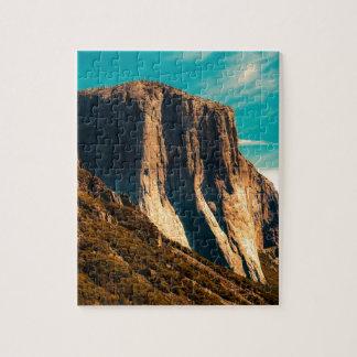 Yosemitie Mountain National Park Jigsaw Puzzle