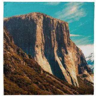 Yosemitie Mountain National Park Napkin