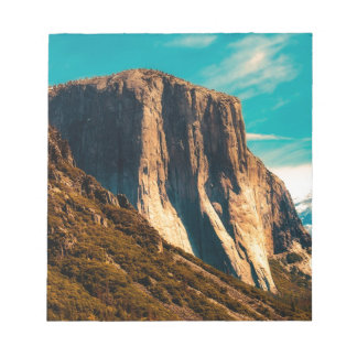 Yosemitie Mountain National Park Notepad