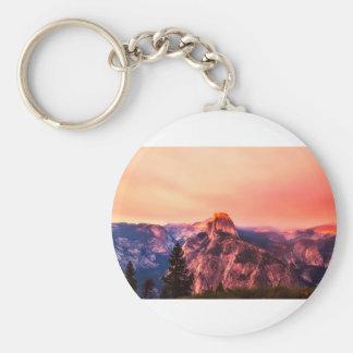Yosemitie National Park Sundown Key Ring