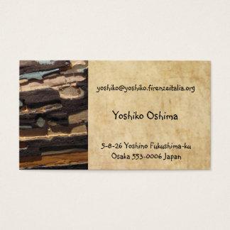 yoshiko oshima business card