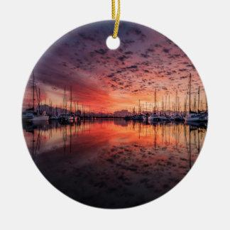 yotsutohaha ゙ of the evening - ceramic ornament