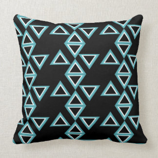 You almofadas Black Triangles Effect Throw Pillow