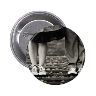 YOU AND ME PINBACK BUTTON