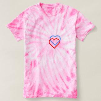 YOU AND ME HEART Women's Cyclone Tie-Dye T-Shirt. T-Shirt