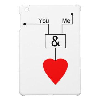 You And Me Love Nerd Edition Digital Logic iPad Mini Case