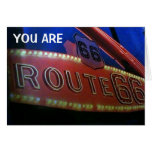 YOU ARE A CLASSIC-JUST LIKE RT. 66! HAPPY BIRTHDAY GREETING CARD