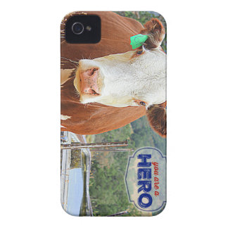 You are a Hero! Cow Case-Mate iPhone 4 Case