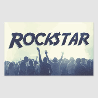 You are a Rockstar! Rectangular Sticker