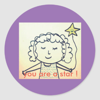you are a star stickers