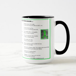 You are a Warrior, Lyme Disease Awareness Mug