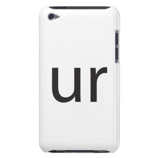 you are ai iPod touch Case-Mate case