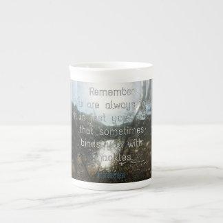 You are always free bone china mug