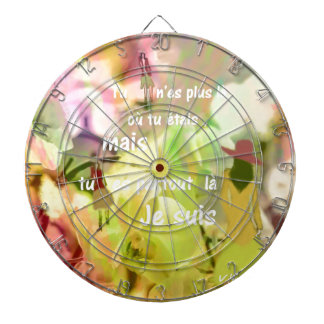 You are always with me even you are not. dartboard