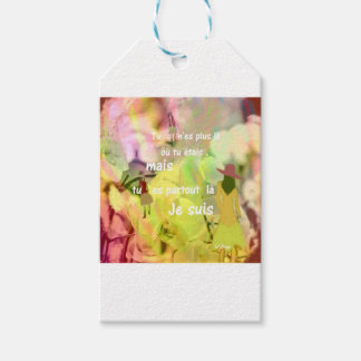 You are always with me even you are not. gift tags