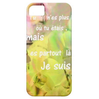 You are always with me even you are not. iPhone 5 cover