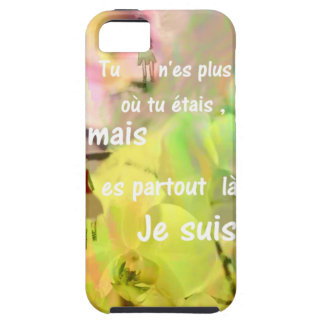 You are always with me even you are not. tough iPhone 5 case