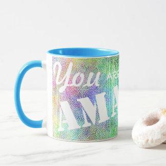 You are Amazing - Customizable Maze Mug