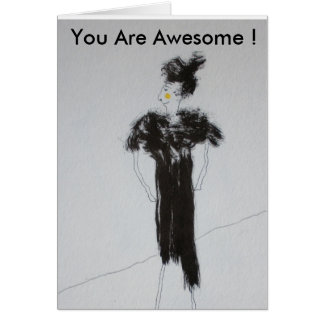 You are awesome ! card