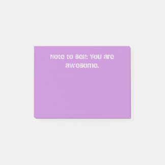 You Are Awesome Post-it Notes