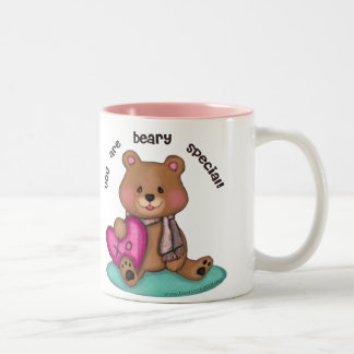 You Are Beary Special Two-Tone Coffee Mug