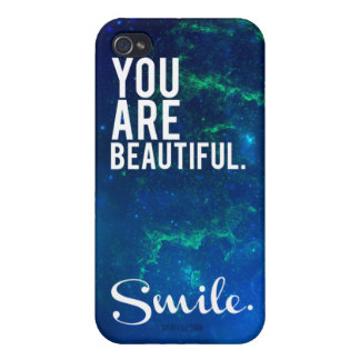 """""""You are beautiful."""" iPhone case Cases For iPhone 4"""