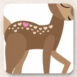 YOU are DEER to ME Coaster