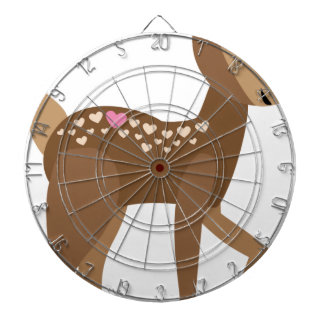 YOU are DEER to ME Dartboard