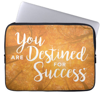 You are Destined for Success Artwork Laptop Cover
