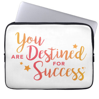 You Are Destined for Success Laptop Cover
