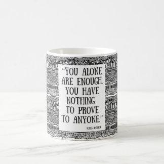 You are enough! coffee mug