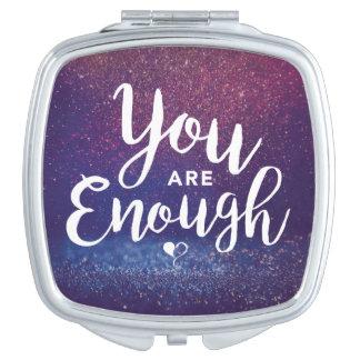 You are Enough Compact Mirror