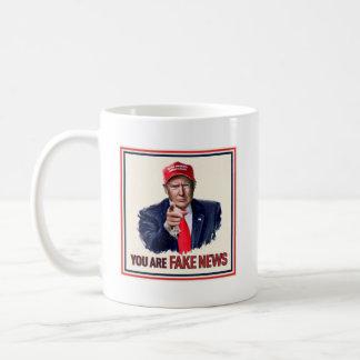 """""""You Are Fake News"""" Coffee Mug"""