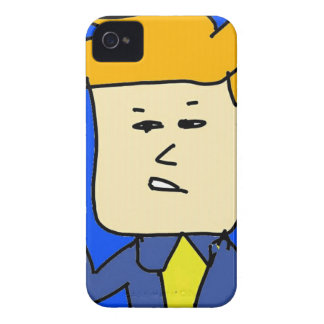 you are fired cartoon boy iPhone 4 Case-Mate cases