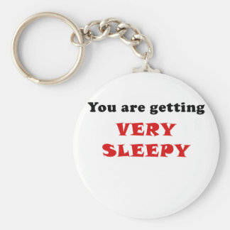 You are Getting Very Sleepy Key Ring