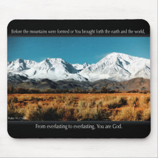 """You are God."" Mousepad"