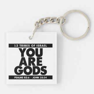 YOU ARE GOD'S KEY-CHAIN KEY RING
